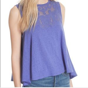 Free People Purple Meant to be Tank
